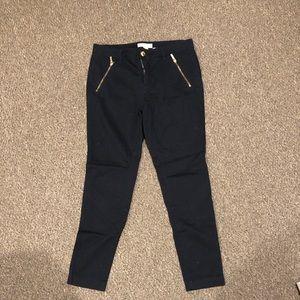 Navy blue dress pants